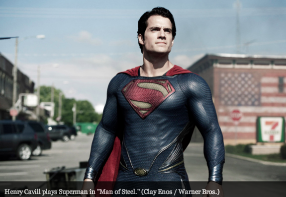 Man of Steel, Henry Cavill